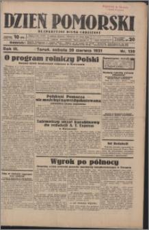 Dzień Pomorski 1931.06.20, R. 3 nr 139