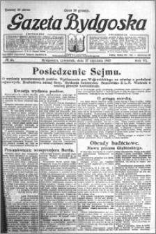 Gazeta Bydgoska 1927.01.27 R.6 nr 21