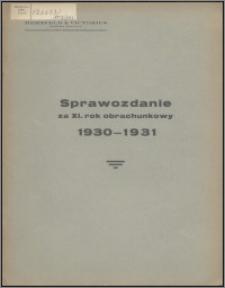 Sprawozdanie za XI Rok Obrachunkowy 1930-1931 / Herzfeld & Victorius Tow. Akc. w Grudziądzu
