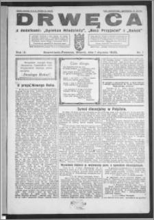 Drwęca 1929, R. 9, nr 1