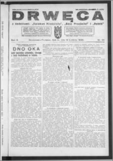 Drwęca 1929, R. 9, nr 44