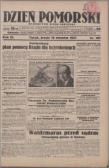Dzień Pomorski 1931.08.19, R. 3 nr 188