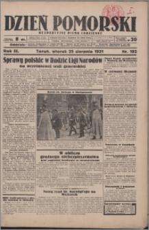 Dzień Pomorski 1931.08.25, R. 3 nr 193