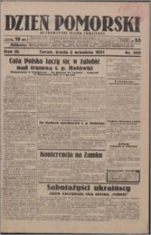 Dzień Pomorski 1931.09.02, R. 3 nr 200