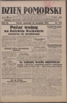 Dzień Pomorski 1931.09.24, R. 3 nr 219