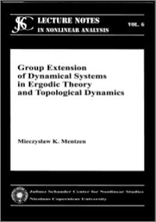 Group extension of dynamical systems in ergodic theory and topological dynamics