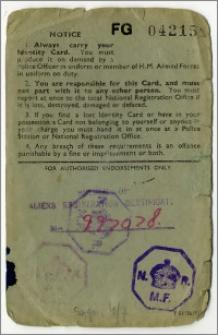 National Registration Identity Card