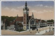 Gdańsk. Dworzec