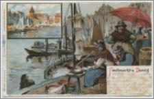 Fischmarkt in Danzig