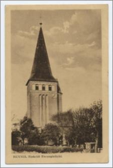 Kcynia : Kościół Ewangielicki