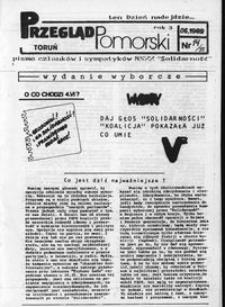 """Przegląd Pomorski : pismo członków i sympatyków NSZZ """"Solidarność"""" 1989 nr 14/35"""