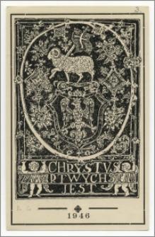 Wielkanocna kartka pocztowa
