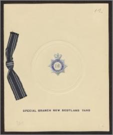 Życzenia bożonarodzeniowe i noworoczne od Johna Gibsona – nadinspektora Wydziału Specjalnego Scotland Yardu