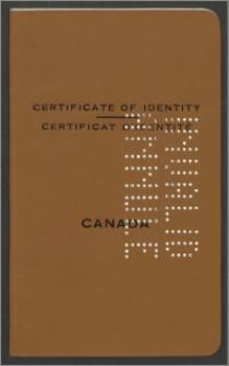 Certyfikat tożsamości Wandy Poznańskiej