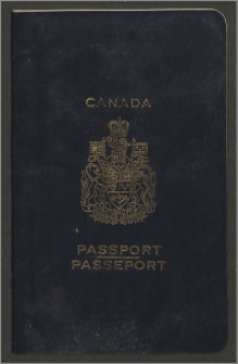 Kanadyjski paszport Wandy Poznańskiej