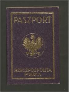 Paszport Rzeczypospolitej Polskiej na nazwisko Wanda Poznańska