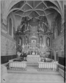 Częstochowa. Klasztor oo. Paulinów na Jasnej Górze. Kaplica Matki Boskiej. Ołtarz Matki Boskiej Częstochowskiej