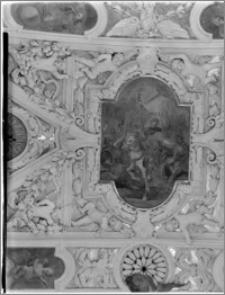 Częstochowa. Klasztor oo. Paulinów na Jasnej Górze. Sklepienie kaplicy Matki Boskiej Częstochowskiej - fragment