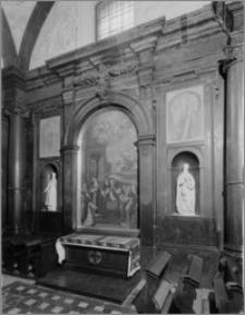 Częstochowa. Klasztor oo. Paulinów na Jasnej Górze. Zewnętrzna ściana Kaplicy Denhoffów. Widok od strony zachodniej