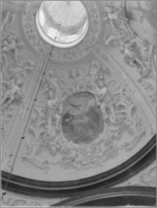 Częstochowa. Klasztor oo. Paulinów na Jasnej Górze. Fragment kopuły Kaplicy Denhoffów