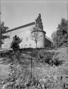 Barciany (woj. suwalskie). Zamek. Widok od strony północno-wschodniej