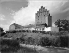 Barciany (woj. suwalskie). Zamek. Widok od strony południowej