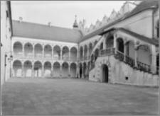 Baranów Sandomierski. Zamek. Dziedziniec