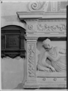 Bejsce [Kościół parafialny pw. św. Mikołaja - nagrobek Elżbiety Firlejowej – fragment]