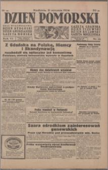 Dzień Pomorski 1934.01.21, R. 6 nr 16