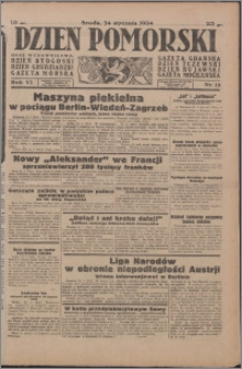Dzień Pomorski 1934.01.24, R. 6 nr 18
