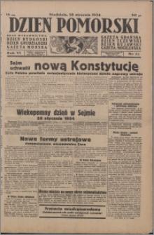 Dzień Pomorski 1934.01.28, R. 6 nr 22