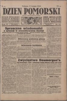Dzień Pomorski 1934.02.17, R. 6 nr 38