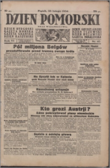 Dzień Pomorski 1934.02.23, R. 6 nr 43