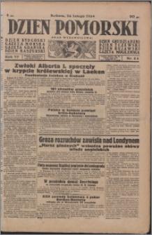 Dzień Pomorski 1934.02.24, R. 6 nr 44