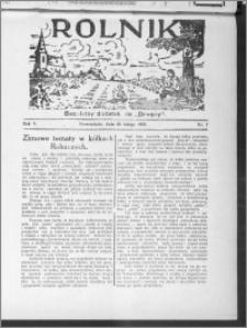 Rolnik 1931, R. 5, nr 7