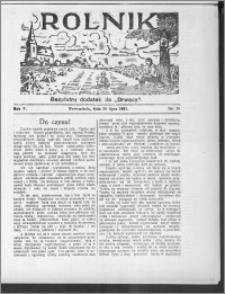 Rolnik 1931, R. 5, nr 28