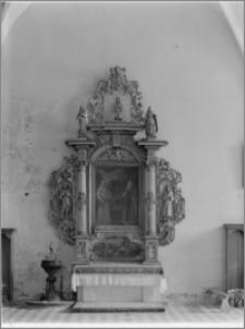 Beszowa [Kościół parafialny pw. św. Apostołów Piotra i Pawła - ołtarz boczny w nawie płd.]