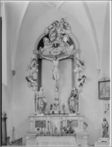 Beszowa [Kościół parafialny pw. św. Apostołów Piotra i Pawła - ołtarz w nawie płn.]