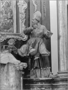 Beszowa [Kościół parafialny pw. św. Apostołów Piotra i Pawła - fragment ołtarza bocznego]