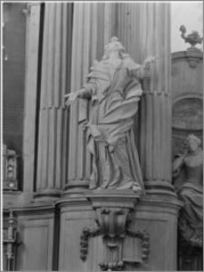 Boćki. Kościół św. Józefa Oblubieńca i św. Antoniego z Padwy, ołtarz główny - fragment