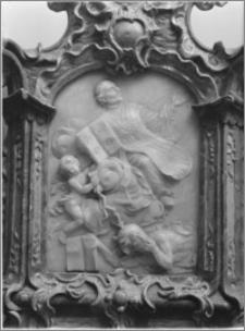 Boćki. Kościół św. Józefa Oblubieńca i św. Antoniego z Padwy, relikwiarz - fragment