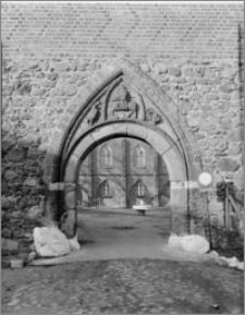 Bierzgłowo. Zamek, portal