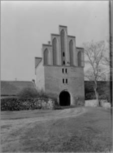 Bierzgłowo. Zamek, brama wjazdowa od strony wschodniej
