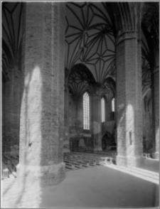Braniewo. Kościół parafialny pw. Katarzyny Aleksandryjskiej, wnętrze