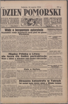 Dzień Pomorski 1934.03.24, R. 6 nr 68