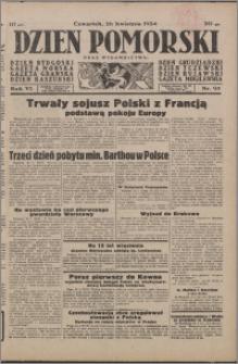 Dzień Pomorski 1934.04.26, R. 6 nr 95