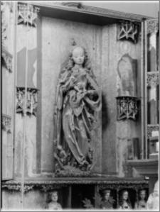 Frombork [Katedra Wniebowzięcia Najświętszej Marii Panny i św. Andrzeja, fragment gotyckiego ołtarza w nawie północnej]