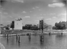 Elbląg [Katedra św. Mikołaja, widok na Stare Miasto zza Kanału]
