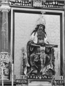 Dobre Miasto [Kościół parafialny pw. Najświętszego Zbawiciela i Wszystkich Świętych - fragment ołtarza bocznego]