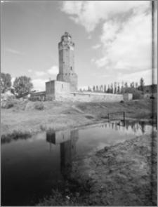 Brodnica. Zamek krzyżacki, widok od południowego-wschodu